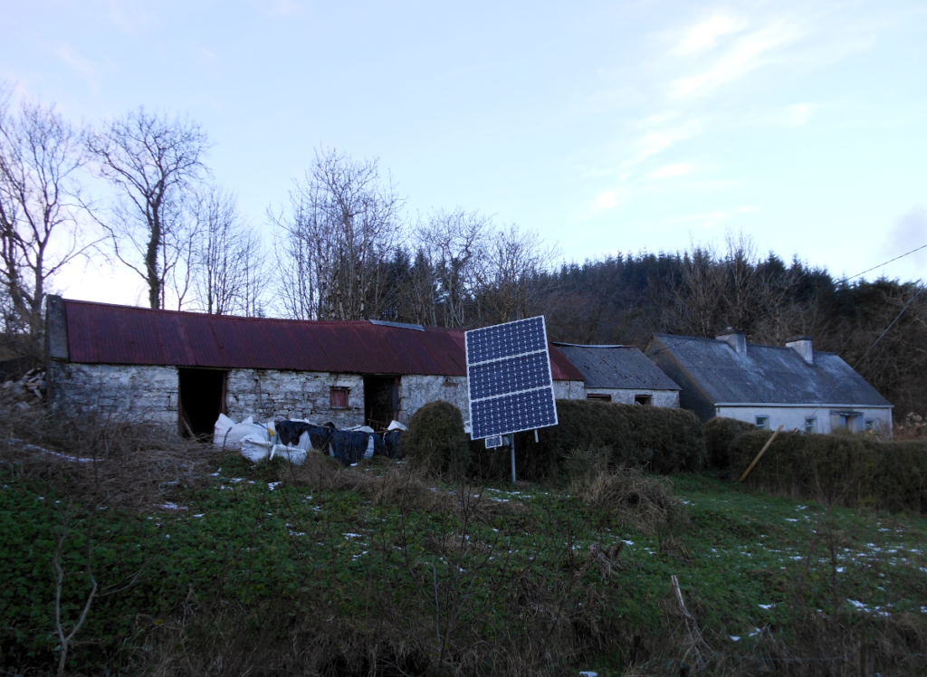 Solar Powered house in Co leitrim
